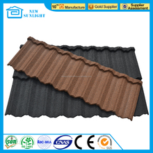 Corrugated Roofing Sheet stone Coated Metal Roof Tile
