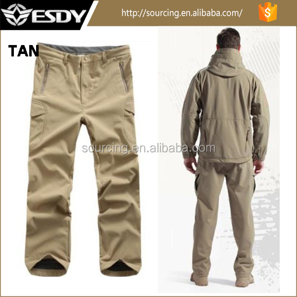 TAN High quality Men's Outdoor Military newly tactical trousers tactical uniform pants