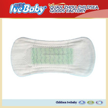 Daily used panty liner ultra thin and soft disposable anion panty liner