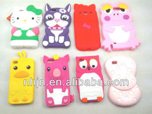 Fashion silicone mobile phone case for iphone 4, iphone5,SAMSUNG