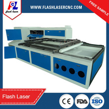 high configuration wood /ply wood die board laser cutting machine 300W FL-1216 for sale