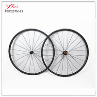 Light weight full carbon road bike wheels 20mm depth tubular bicycle wheel for road with ED hub 20H/24H