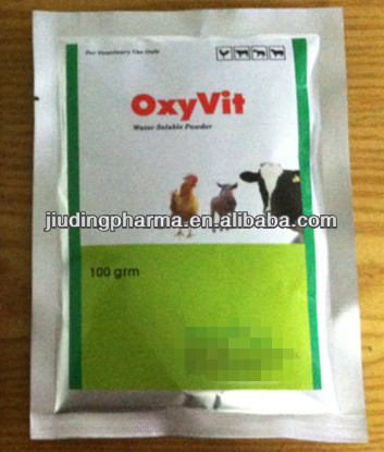 oxytetracycline and multivitamin powder for bird medicine