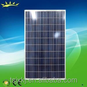 high effeciency fully certified solar panel cells 255watt poly solar module under low price per watt
