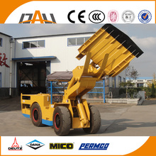 hot sale 4X4 small hydraulic and mechanical underground mining wheel loader