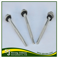 Hot selling hexagon washer head self drilling concrete screws