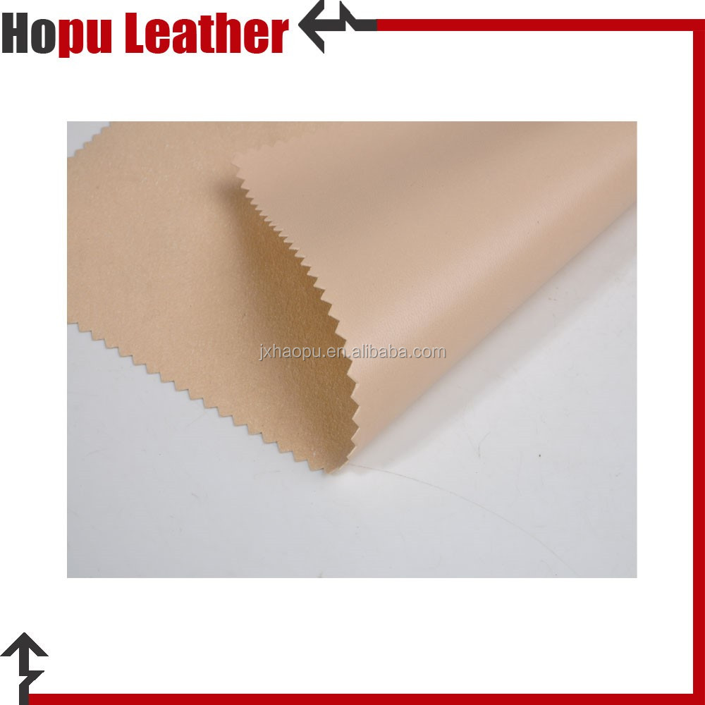 pu imitation leather fabric for materials to make sandals