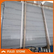 Best quality cheap price chinese blue wooden grain veins marble