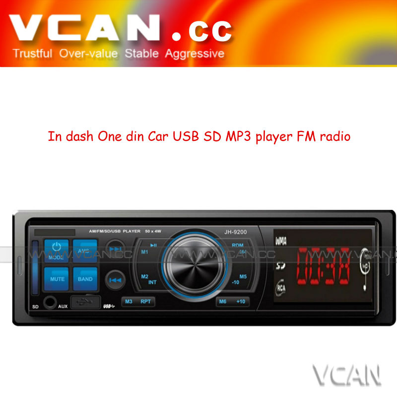 car audio mp3 In dash 1 din usb mp3 adapter car kit