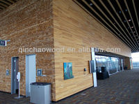 carbonized wood thermowood wall panel