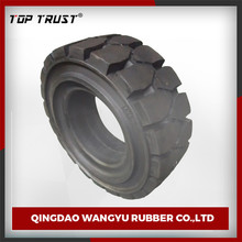 TOP TRUST supply 16*6-8/2.50-15 industrial forklift solid tire
