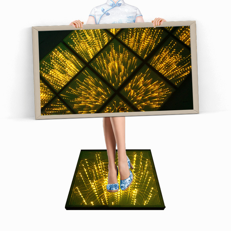 Hot Sale Wedding Outdoor Tempered Glass Aluminum 3D LED Starlit Dance <strong>Stage</strong> Floor