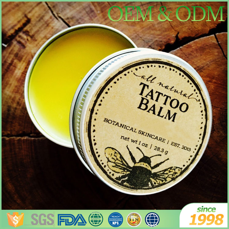 Hot selling natural private label beard wax balm for men beard styling