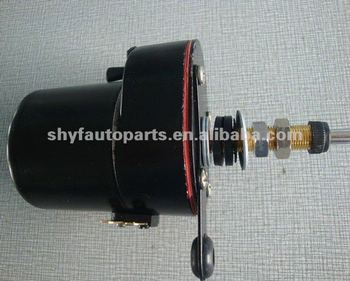 DC Wiper Motor & Windshield Wiper
