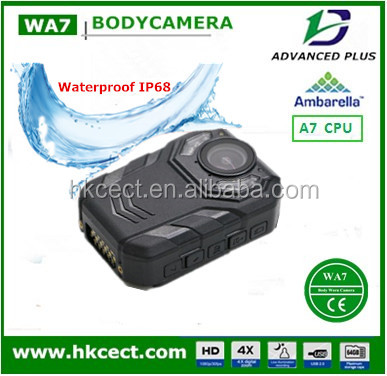 Super HD 1296P 12hrs recording 4G/WIFI/GPS/3G body camera police for Law Enforcement IP68