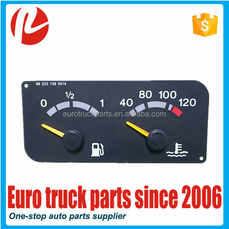 European truck auto spare parts oem 1434134 instrument cluster for SC digital tachometer