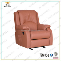 WorkWell high quality heated PU leather recliner functional chair Kw-Fu46