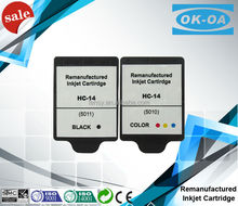 best sale on Alibaba refill inkjet cartridge for hp14 5010 5011 ink cartridges for hp