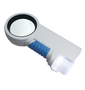 TH-7011 12X Illuminated Acrylic Optical Glass Magnifying With Flash Light