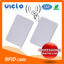 High quality machine grade rfid smart Card with uv protection made in china
