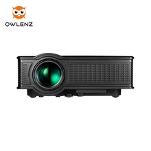 OWLENZ SD50 Portable Smart 1500 Lumens Full HD 1080P Home Theater Mini projector Video mini led projector better than UC46 UC40