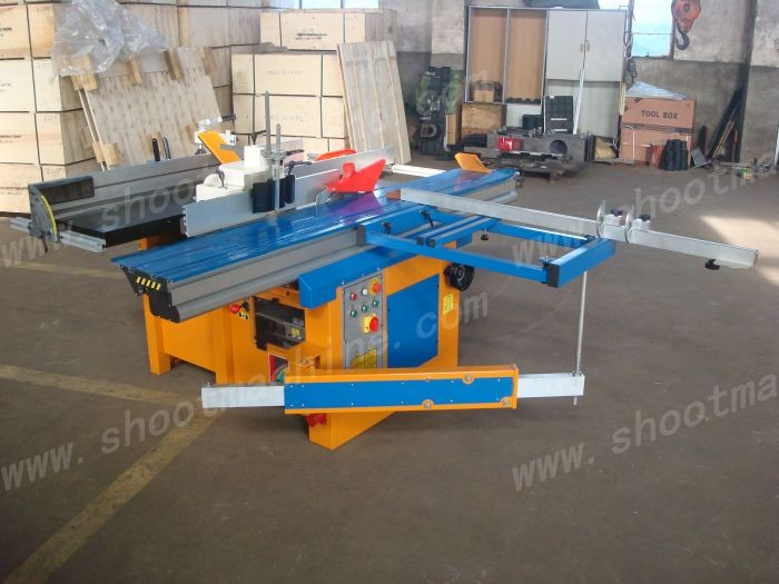 7 Works Combines Machine SHC-400 with Working tables 400x1750mm and Cutterblock diameter	70mm