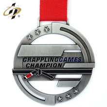 Custom high quality engraved metal world championship sport tournament medallion