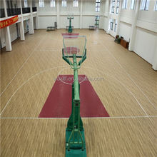 best waterproof noiseless pvc plastic basketball floor mat from china