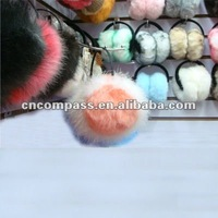 artificial fur earmuff edge ornament by real fur