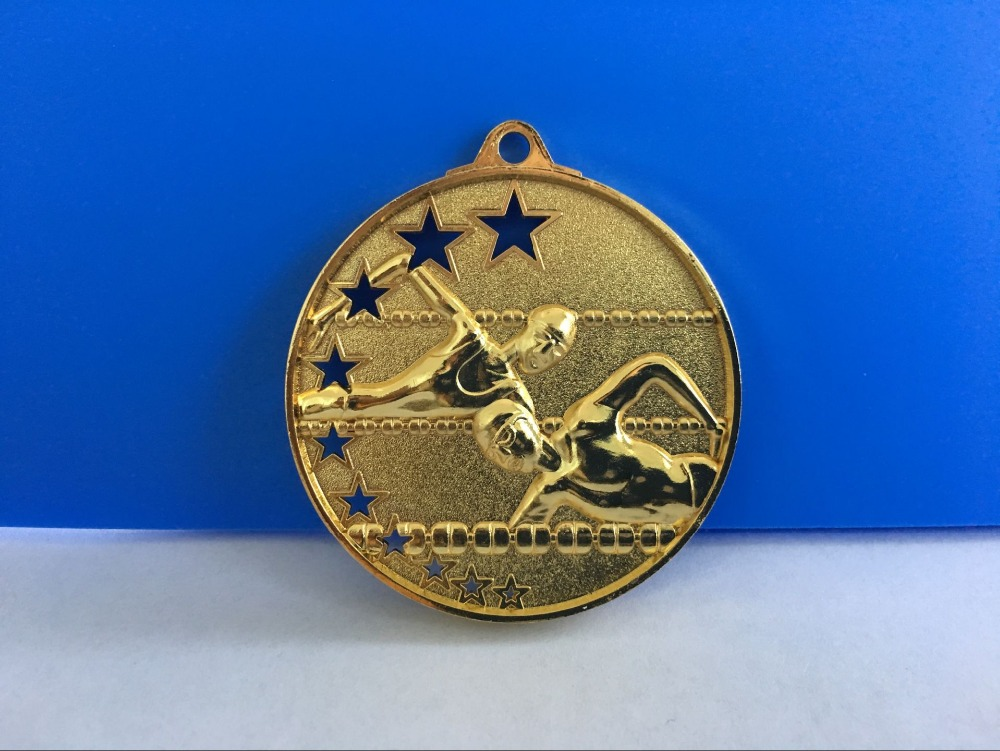 Design Your Own Logo Blank Sports High quality commemorative zinc alloy basketball gold blank award Metal Medals