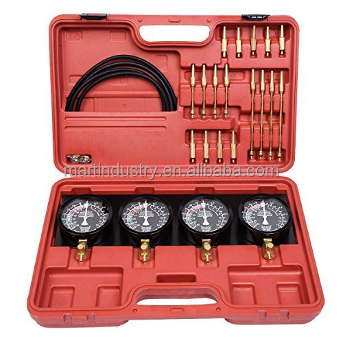 Fuel Pressure Synchronisation Diagnostic Test Tool Kit Fuel Vacuum Carburetor Synchronize Gauge Tool Kit Synchronise Adjust & Se