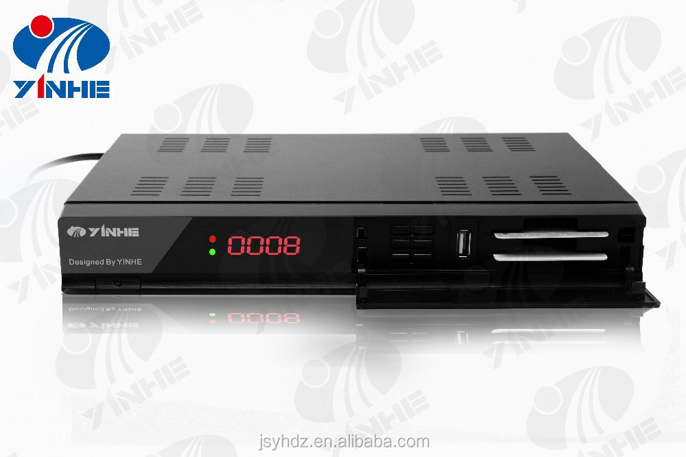 Full HD 1080p satellite and terrestrial receiver dvb COMBO DVB S2 DVB T2 box digital