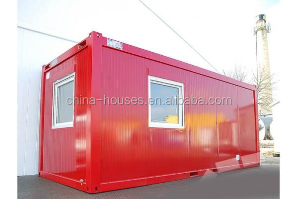 ISO CE Certificated Prefab Sandwich Panel 20ft flat pack container house