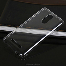 2016 New Phone Case Back Cover Compatible For Xiaomi Redmi Note 3 Pro Crystal Clear PC