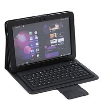 Wireless Bluetooth Keyboard + Leather case for Samsung Galaxy Tab 10.1 P7510 P7500