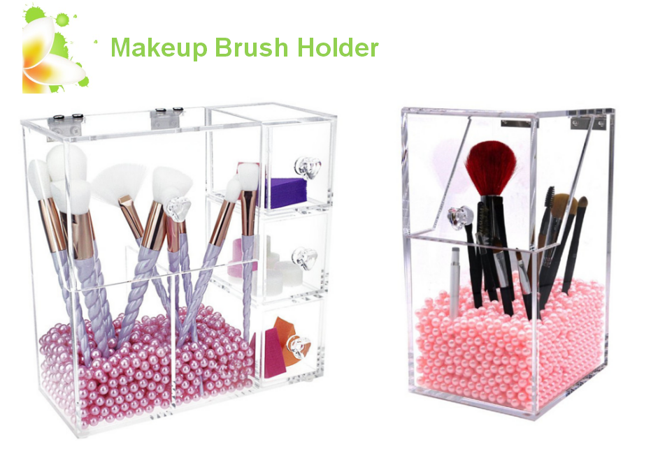 beauty makeup brush organizer