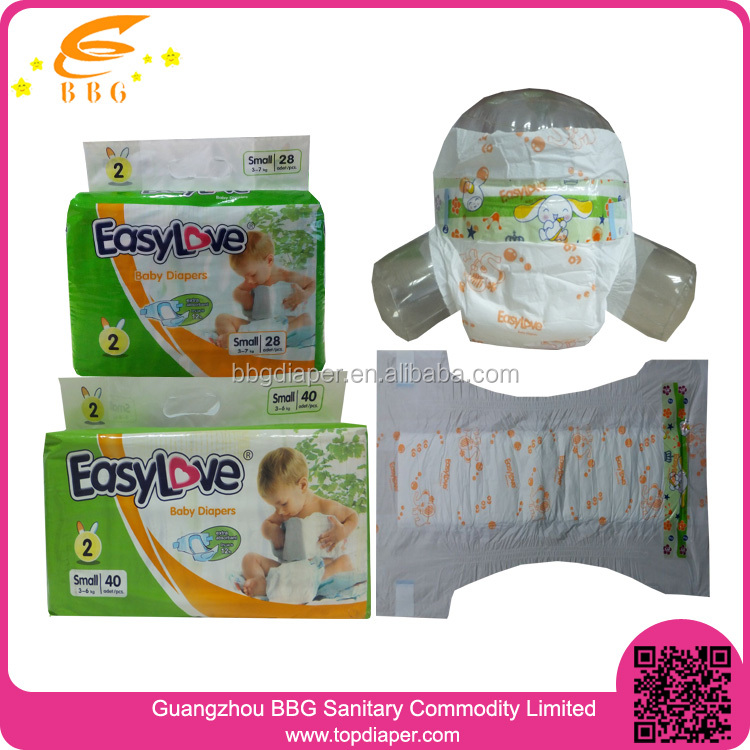 Cheap disposable baby diaper manufacturer in China/alibaba china supplier baby diaper india