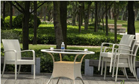 China Manufacturer bamboo outdoor furniture New Product environmentally protective