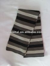 2012 knitted striped scarf