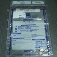 Free Sample Free Design Free Delivery SGS Certified High Security and Env-friendly Plastic Cash Security Bags