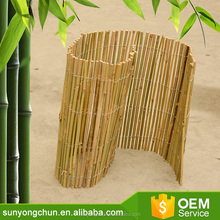 Bamboo u shape roll up screen border newest ued in plant support