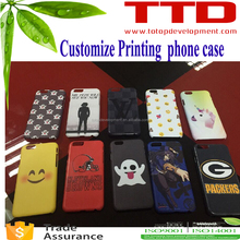 customize printing personalized sublimation mobile phone cover ,2016 newest smooth matte cases
