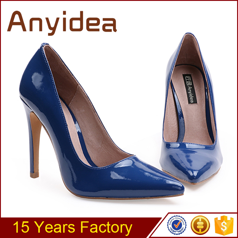 china women's high heel shoes factory OEM / ODM order custom big size women shoes with processing