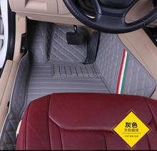 5D Full Surrounded Leather Car Floor Mats with Odorless Eco-friend XPE material custom-fit for Suzuki