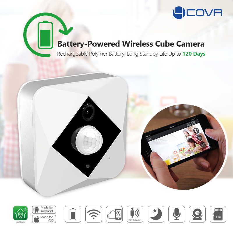 Smart Home battery operated wireless mini wifi spy <strong>camera</strong> rechargeable