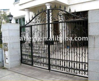 Iron Main Gate Designs - Buy Iron Gate,Forging Wrought Iron,Iron Gate ...