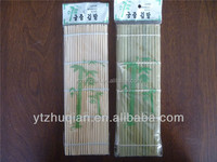 HOT selling best quality solid premium green bamboo sushi mat maki roll