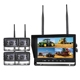 9 inches wireless rear view system with recoding function