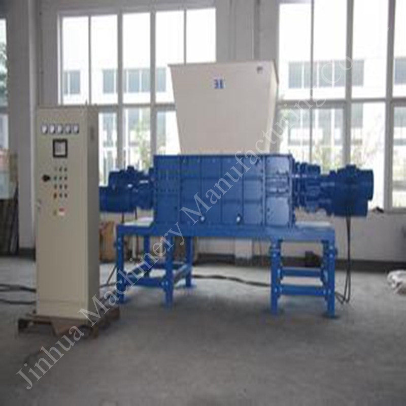 Waste recycling machinery wood pallet shredder