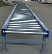 stainless steel and aluminium conveyor roller assemble line